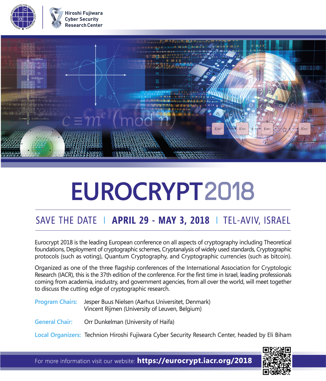 Eurocrypt2018 save the date